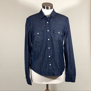 """NEW"" Sz. M Gap Denim Button Down Shirt"